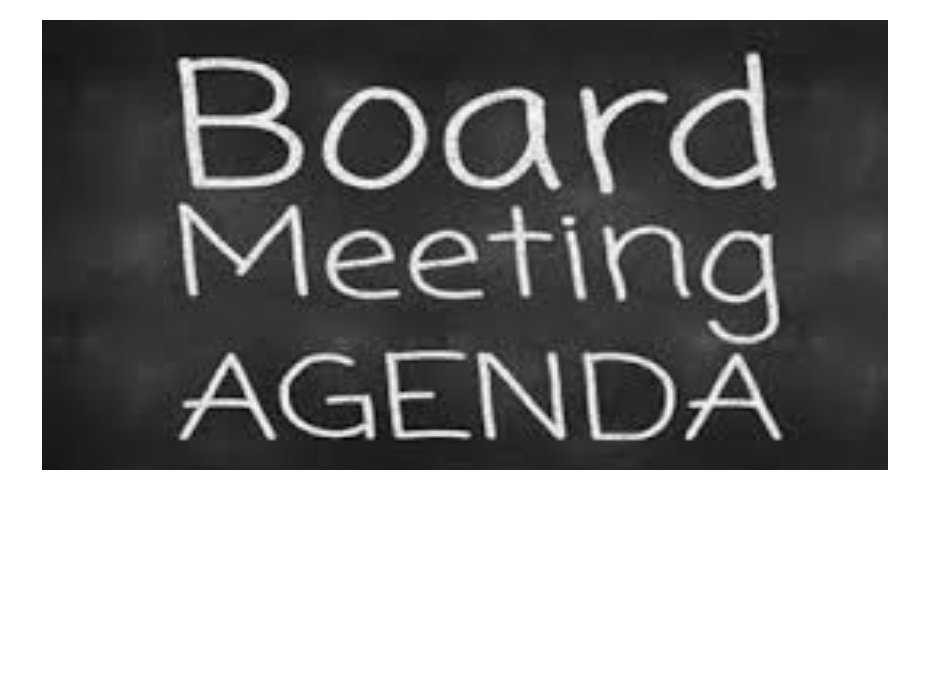Board Agenda Meetings
