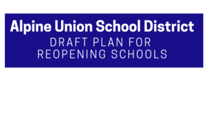 AUSD Reopening Schools Plan and Communication